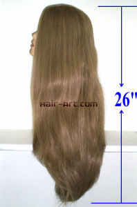 "100% Human Hair Wigs / Silk Top Kosher Jewish Wigs-26"" pictures & photos"