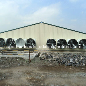Prefab Steel Structure Poultry House pictures & photos