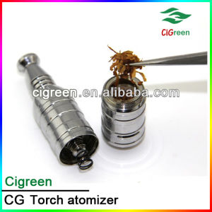 2014 Best EGO Dry Herb Vaporizer, Rebuildable Cigreen Torch Atomizer