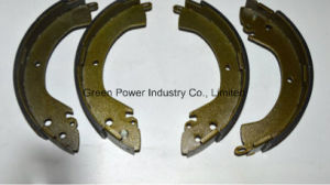 Non Asbestos Ceramic Semi-Metallic Brake Shoe pictures & photos