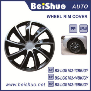 Black and Gray Wheel Rim Cover/Hupcaps Cover pictures & photos