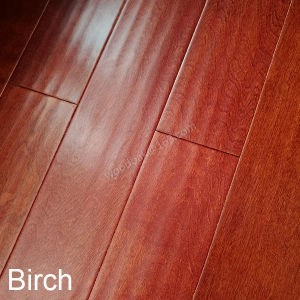 Birch Flooring / Engineered Wood Flooring Birch with Stain Color