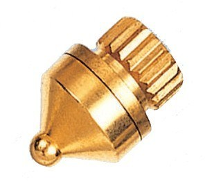 RoHS Golden Plated Brass Home Audio Pyramid Peg (DH-910)