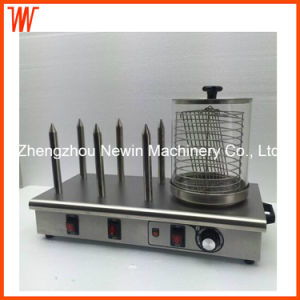 Hdw-6 Hot Dog Roller Machine Grill Commercial Sausage Bread Warmer pictures & photos
