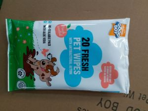 Non Woven Pet Cleaning and Care Wet Wipes pictures & photos