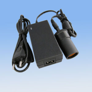 EU 12V2a Laptop Cigarette Socket Power Adapter pictures & photos
