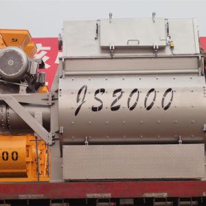 Twin Shaft Concrete Mixer (JS2000) for Sale pictures & photos