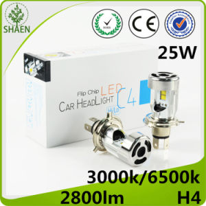 Wholesale 25W H4 LED Auto Headlight with Fan pictures & photos
