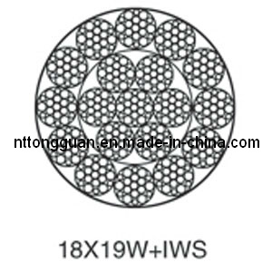 General Purpose Steel Wire Rope 18X19W+Iws/ Common Wire Rope 18X19W+Iws pictures & photos