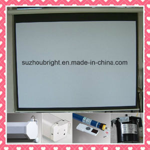 100 Inch Projector Screen 120 Inch Projector Screen 4: 3 16: 9 pictures & photos