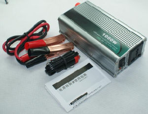 1000W 12VDC to 220VAC USB Car Power Inverter (QW-1000MUSB) pictures & photos
