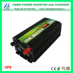 DC48V AC220/240V Inverters 1500W UPS Car Inverter with Charger (QW-M1500UPS) pictures & photos