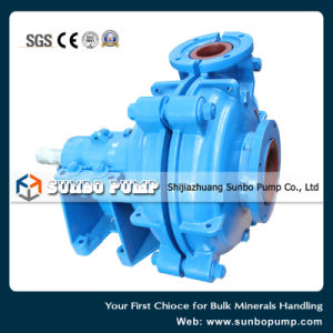Hot Sale Mineral Processing Horizontal Centrifugal Slurry Pumps pictures & photos