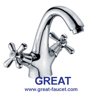 Classic Design Two Handle Basin Faucet (GL3701X10) pictures & photos