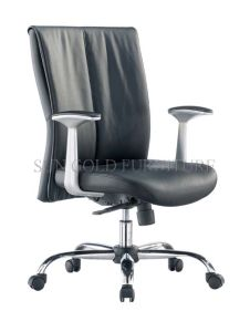 High Quality PU Leather Middle Back Manager Chair (SZ-OC033) pictures & photos