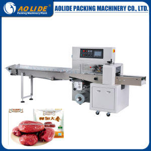 Horizontal Flow Packing Machine for Red Date Ald-250X (H) B/D pictures & photos