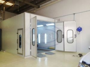 Spray Booth Wld-8200 for Australian Customer pictures & photos