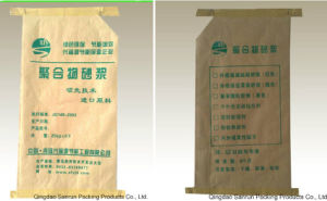 China Made Mineral Kraft Paper Woven Bag pictures & photos