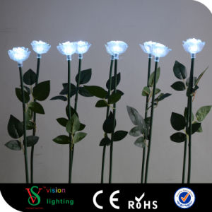 Outdoor LED White Rose Light pictures & photos
