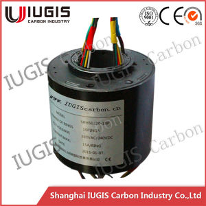 Srh50120-18 Through Bore Slip Ring for Magnetic Clutch 18 Wires pictures & photos