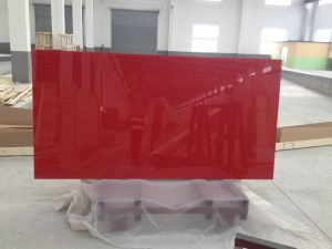3-6mm Painted Glass of Ral3020 Red pictures & photos