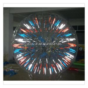 Amazing Beautiful Colorful Inflatable Glow Zorb
