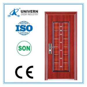 Security Steel Door/ Beautiful Metal Door/Hot Iron Door pictures & photos