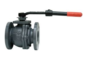 Cast Iron Double Flange Ball Valve, Class 125/150 pictures & photos
