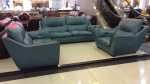 New Leather Sofa, Modern Sofa (1213) pictures & photos