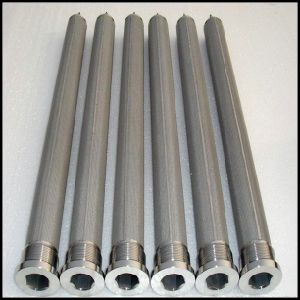 Sintered Stainless Steel Candle Filter pictures & photos
