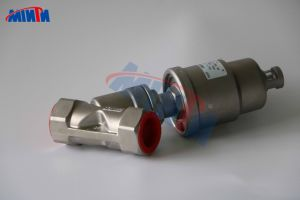 2 Way Air Operated Angle Seat Valve Price Stainless Steel AISI304 (CF8) /AISI316 (CF8) Manufacturers pictures & photos