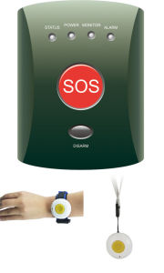 GSM Sos Emergency Personal Security Alarm for Elderly, Senior, Children pictures & photos