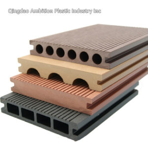 WPC Decking for Wood Plastic Composite Landscape with Ce Approved