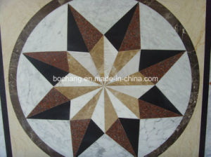 Marble Mosaic Waterjet Floor Medallion for Pattern Tile pictures & photos