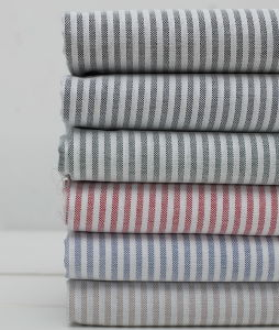100% Cotton Stripes Yarn Dyed Oxford Shirt Fabric pictures & photos