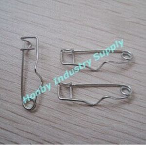 Wholesale Nickel Plated Crimp Safety Pin for Badges