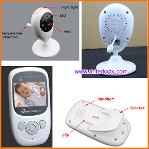 2.5 Inch Wireless Digital Baby Monitor with Two Way Audio Communication & Temperature Detection pictures & photos