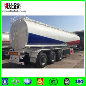 60000liters Carbon Steel Fuel Tank Semi Trailer with Truck Head pictures & photos