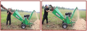ATV Wood Chipper with 15HP Petrol Engine pictures & photos