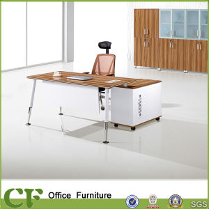 Practical Wide Executive Table with Side Pedestal pictures & photos