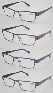 Cheap Promotion Stainless Unisex Reading Glasses pictures & photos