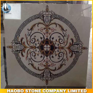 Haobo Marble Water Jet Medallion Marble Mosaic Tile
