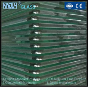 4mm Round Tempered Glass with Polished Edges pictures & photos