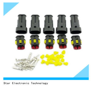 High Quality of Car Waterproof Electrical Wire Connector Plug 2 Pin Way Terminals HID pictures & photos