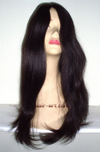 Top Fashion Human Hair Jewish Wigs with Hair Length 24""