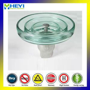 U120 Toughened Glass Insulator High Voltage Glass Disc Insulator pictures & photos