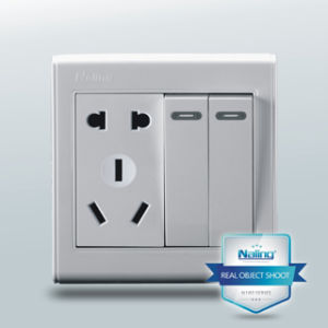 Electric Socket with Two Switches