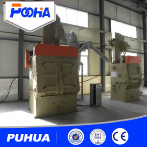 Rubber Belt Tracking Type Shot Blasting Machine Price pictures & photos