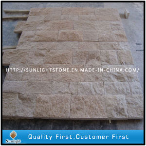 China Yellow Granite Stone Garden Floor Paving & Driveway Pavers pictures & photos