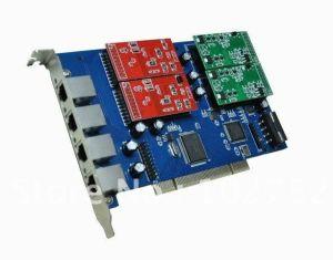 Tdm400p Tdm410p 4 Ports FXO/FXS Asterisk PCI Card pictures & photos